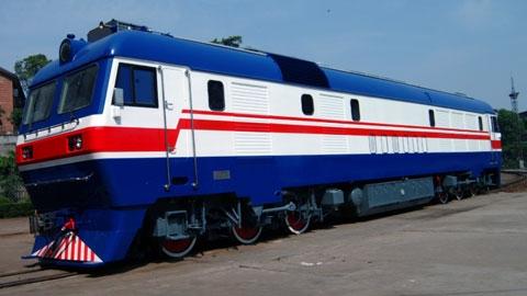 东风8b型货运内燃机车